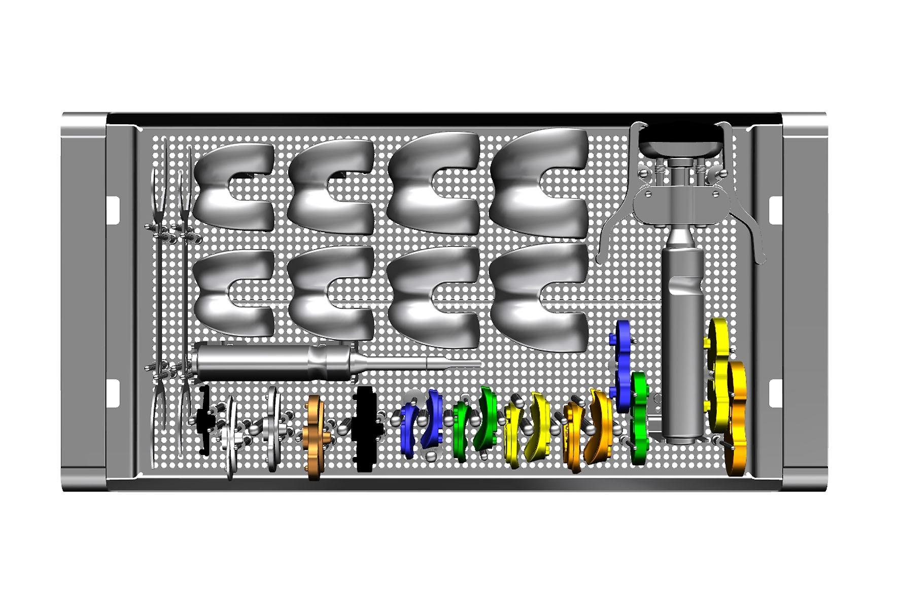 Instrumentarium ZEN Fixed Bearing Probekomponenten